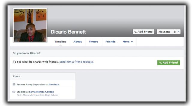Dicarlo Bennett Dry Ice Explosions, LAX Bomb Suspect, LAX Servisair Contractor, Dicarlo Bennett Suspect.