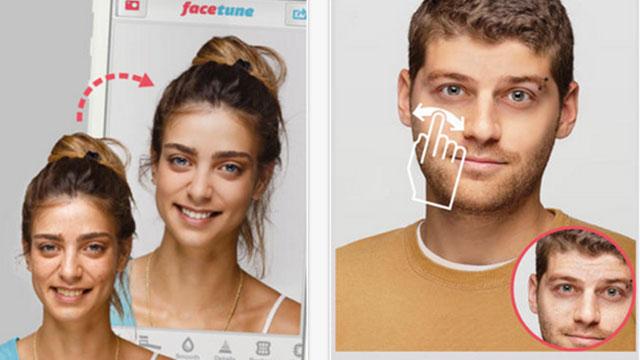 facetune iphone app