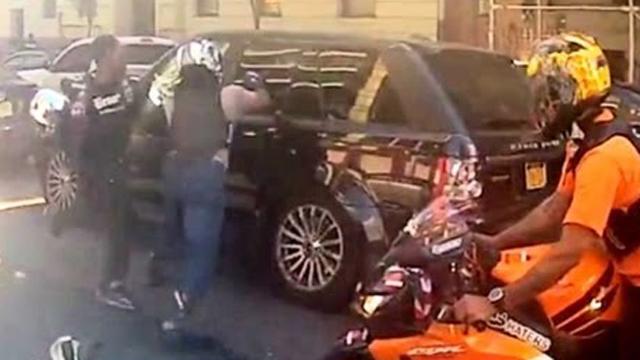 NYPD Cop arrest Alexian Lien, Undercover cop arrested, Alexian Lien cop arrested, Road Rage Biker Cop Arrested.