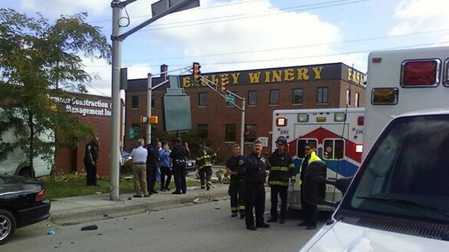 Indianapolis Hit-and-Run, Injuries in rush-hour Indianapolis crash, Indianapolis injuries van.