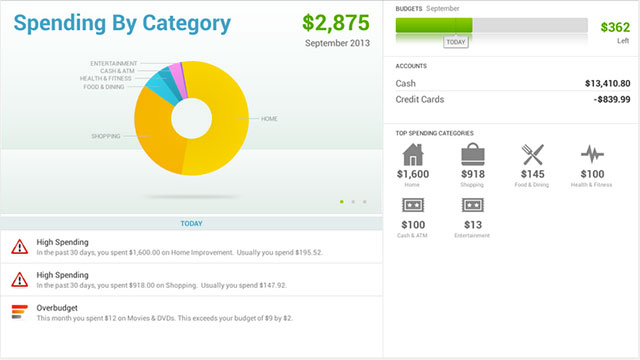 intuit quicken 2014 android app
