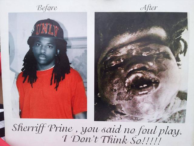 Kendrick Johnson Face