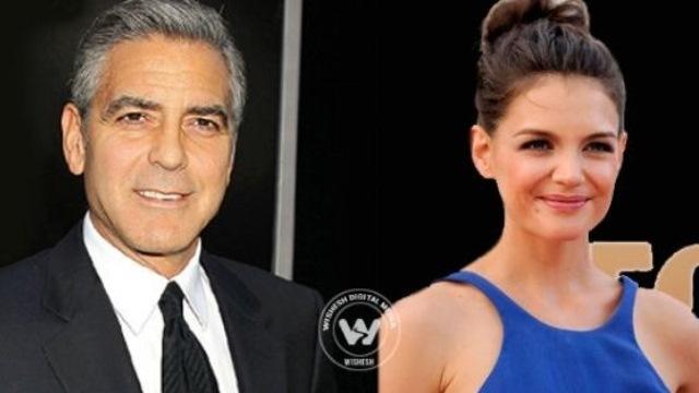 Katie Holmes Dating George Clooney, Katie Holmes Dates George Clooney, Katie Holmes Not Dating Jaime Foxx