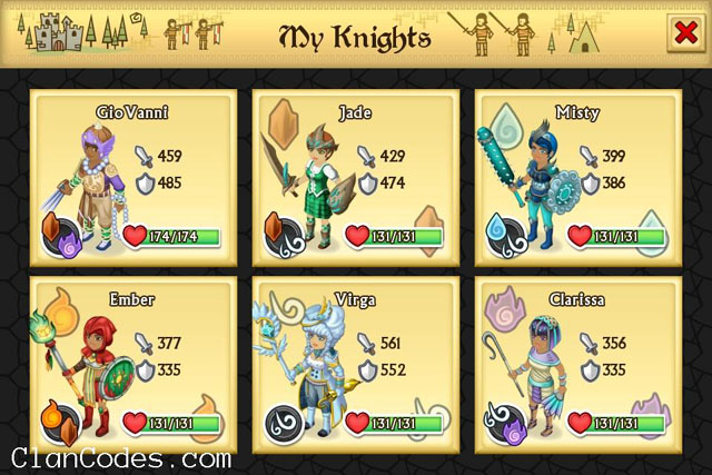 Knights and Dragons Tips