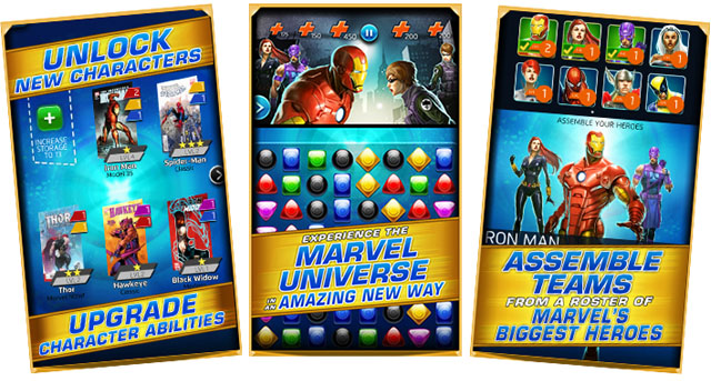 Marvel Puzzle Quest Tips