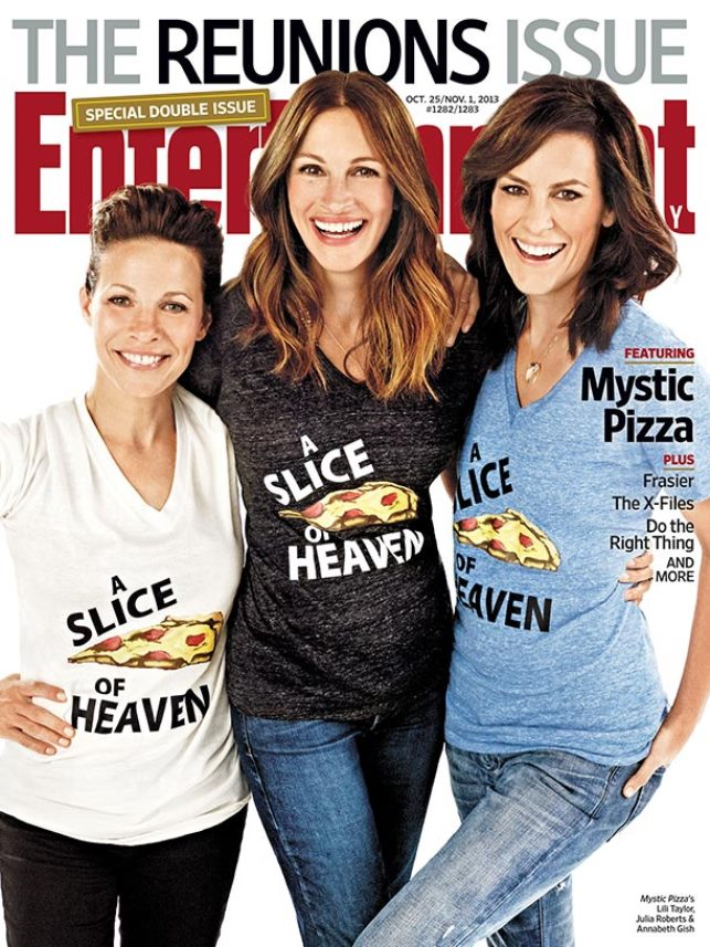 Mystic Pizza Reunion Good Morning America, Julia Roberts Mystic Pizza Reunion, Mystic Pizza Reunion Entertainment Weekly