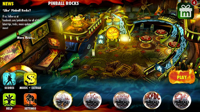 pinball rocks hd android app