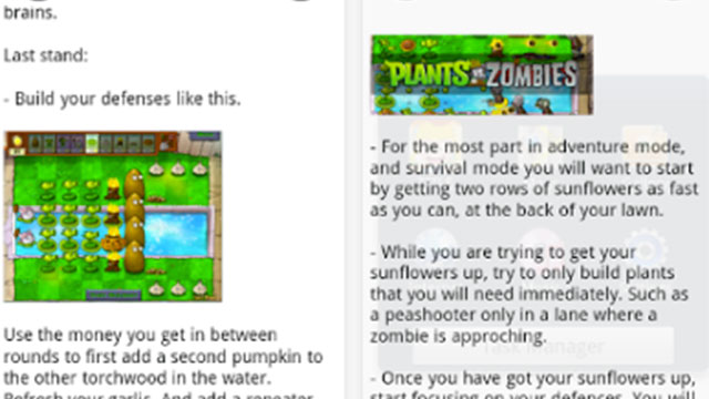 plants vs zombies cheats android app