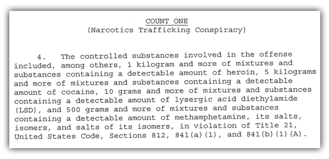 ross ulbricht charges 2