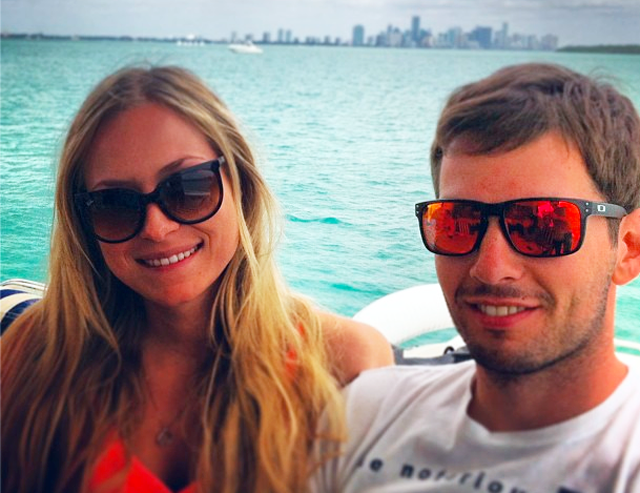 sean edwards and his girlfriend