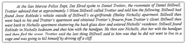 Daniel Brester Stillwell Hailey Nicholls Jesse Robledo Devil's Backbone Murder Suicide San Marcos Texas,
