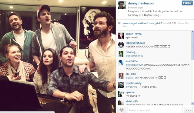 That 70's Show Cast Reunited, That 70s Show Reunion, That 70s Show Reunion Instagram
