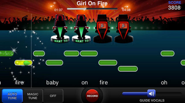 the voice on stage by star maker iphone app