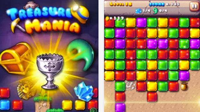 treasure mania android app