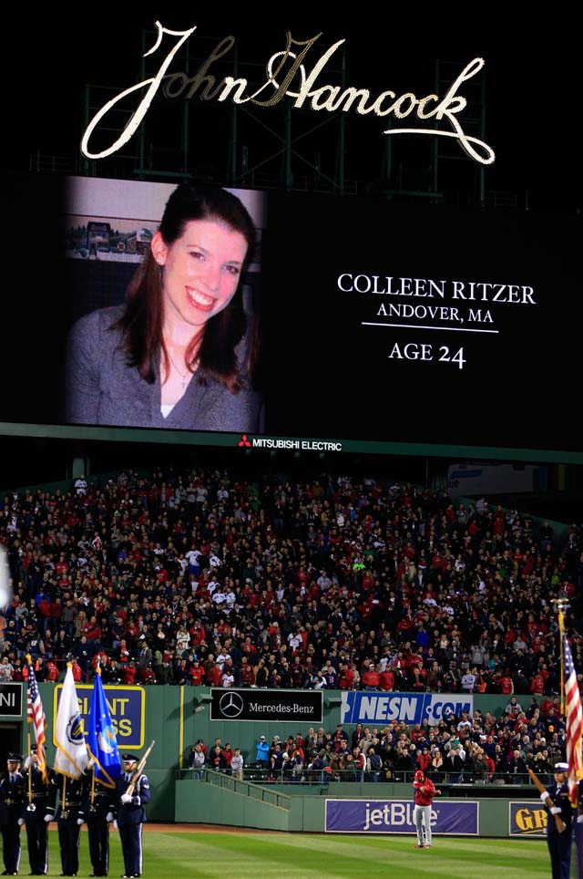 world series moment of silence for colleen ritzer