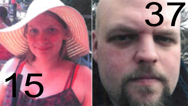Emily Lalinsky and Robert Messer.  Image Credit: Plymouth Township Police