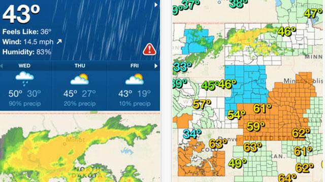 weather underground app for iphone