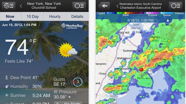 weatherbug elite app for iphone
