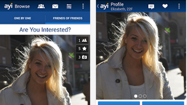 are you interested dating android app