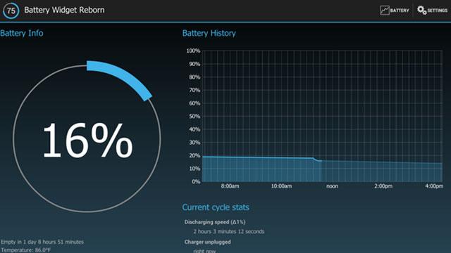 battery widget reborn android app