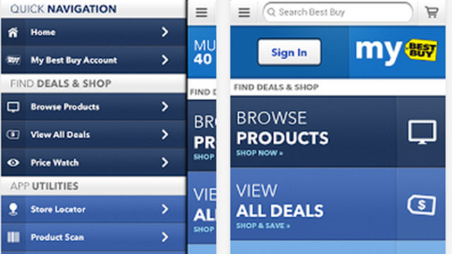 best buy iphone android app