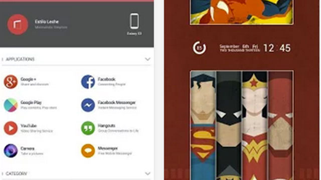 buzz launcher android app
