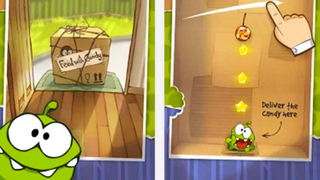cut the rope hd android app