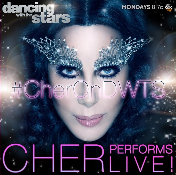 Cher Judges DWTS, Cher Judges Dancing With the Stars, Cher Performs on DWTS Believe Video, Cher DWTS Believe