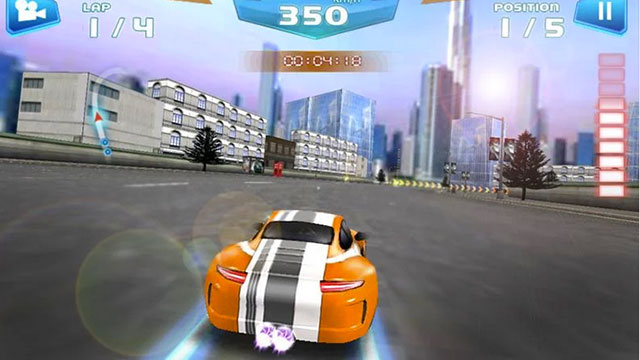 fast racing 3d android app
