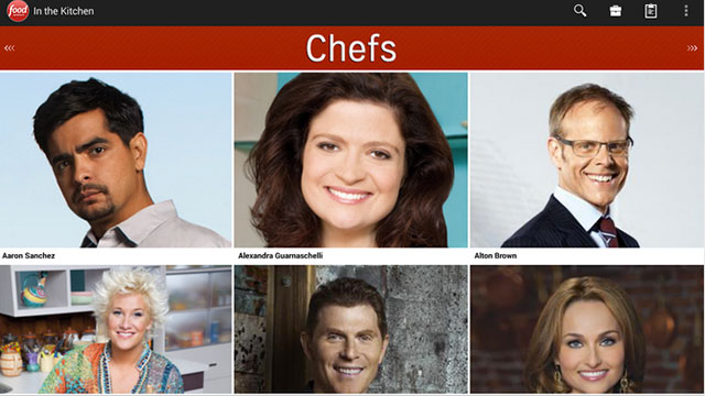foodnetwork in the kitchen iphone android app