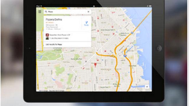google maps ipad app