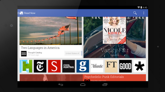 Newsstand App pictures, via the Verge.