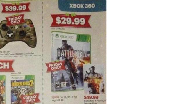 Black Friday 2013 GameStop