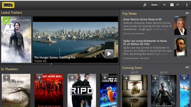 imdb movies and tv android app