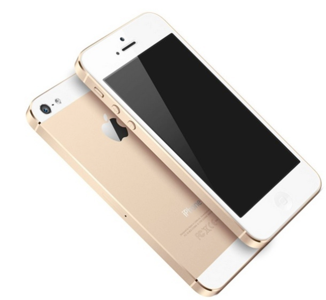 A gold/champagne iPhone 5S, soon to be sold at Boost Mobile stores all over the country. Image Credit: CNET