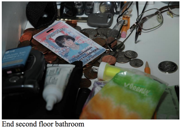 sandy hook report Adam Lanza Pics House ID Card
