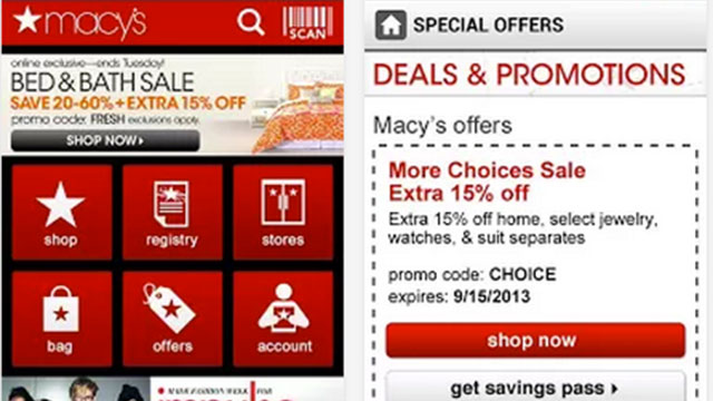 macy's iphone android app