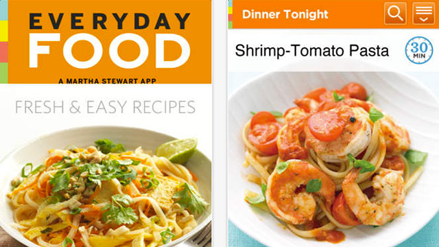 marthas everyday food iphone app