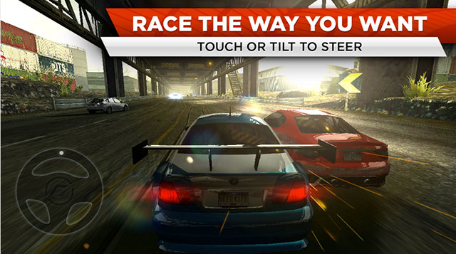 need for speed most wanted android app