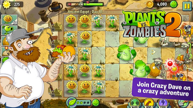 plants vs zombies 2 android app
