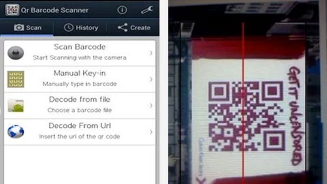 qr barcode scanner android app