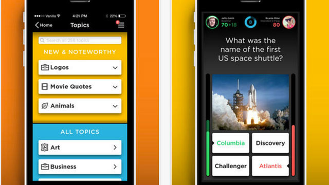 quizup ipad app