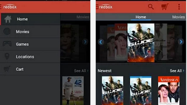 redbox android app