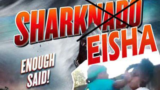 Sharkeisha Shay Instagram Sharknado Meme Vine Viral Beating.