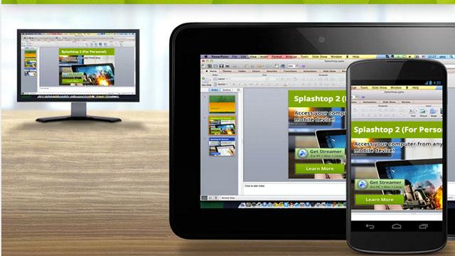 splashtop remote desktop hd android app