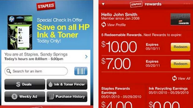 staples iphone android app