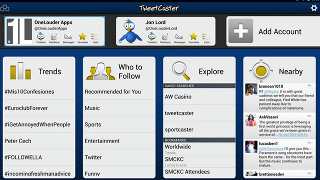 tweetcaster for twitter android app