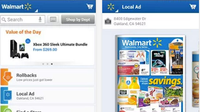 walmart iphone android app