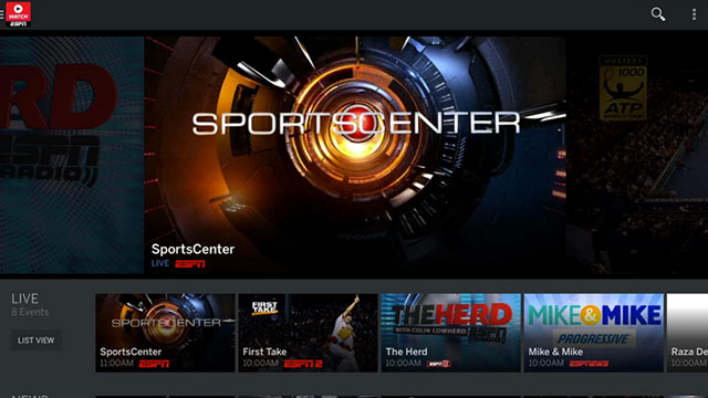 watchespn android app