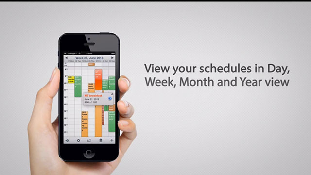 week calendar android app